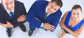 Бизнесмены стоя совместно - topview Стоковые Изображения