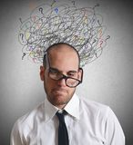 Бизнесмены стресса Стоковые Фотографии RF