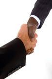 Бизнесмены трястия руки Стоковые Изображения RF