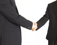 Бизнесмены трястия руки Стоковые Фото
