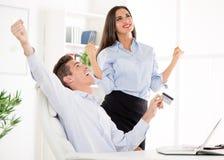 бизнесмены успешные Стоковая Фотография RF