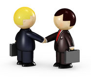 бизнесмены 2 иллюстрация штока
