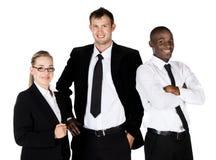 3 бизнесмены Стоковые Фото