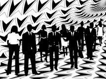 бизнесмены Стоковое Изображение