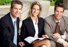 бизнесмены Стоковая Фотография RF