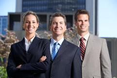 бизнесмены Стоковая Фотография