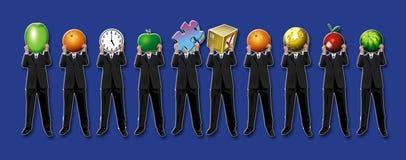 бизнесмены Стоковое Фото