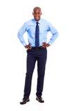 Бизнесмен афроамериканца Стоковые Фотографии RF