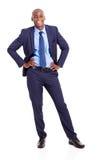 Бизнесмен афроамериканца стоковые изображения rf
