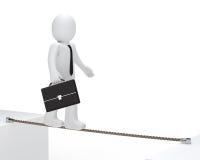 бизнесмен баланса к Стоковые Фотографии RF