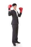 Бизнесмен бокса Стоковые Изображения RF