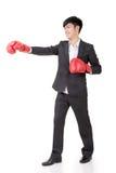 Бизнесмен бокса Стоковые Изображения