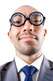 Бизнесмен болвана смешной Стоковые Фотографии RF