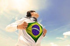 Бизнесмен Бразилии Стоковое фото RF