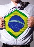 Бизнесмен Бразилии Стоковое Изображение