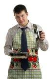бизнесмен варя еду Стоковые Изображения