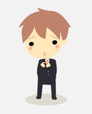 бизнесмен виновный Стоковое Изображение RF