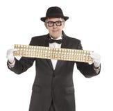Бизнесмен волшебника Стоковая Фотография RF
