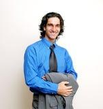 бизнесмен вскользь стоковое изображение