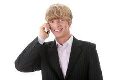 бизнесмен вызывать Стоковые Изображения RF