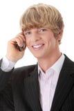 бизнесмен вызывать Стоковая Фотография