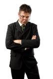 бизнесмен грубый стоковое изображение