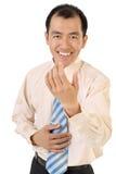 бизнесмен добросердечно стоковые фотографии rf