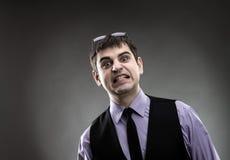 Бизнесмен делая стороны Стоковое Изображение RF