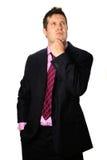 бизнесмен заботливый Стоковые Фотографии RF