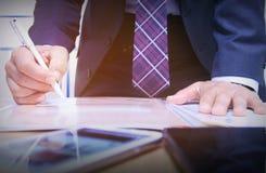 Бизнесмен, знак Стоковое Изображение RF