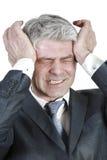 Бизнесмен под давлением Стоковое фото RF