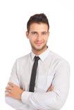 бизнесмен красивый Стоковое фото RF