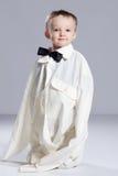 Бизнесмен мальчика малыша Стоковое фото RF