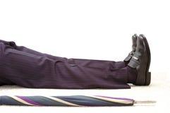 бизнесмен мертвый Стоковое Изображение RF