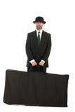 бизнесмен мешка большой стоковое фото