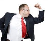 бизнесмен мощный Стоковое Изображение