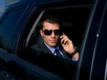бизнесмен напольный Стоковая Фотография