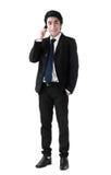 Бизнесмен на телефоне стоковое изображение