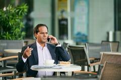 бизнесмен несчастный Стоковые Фотографии RF