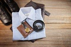 Бизнесмен одеяния Стоковые Фото