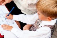 Бизнесмен ребенка Стоковое Изображение