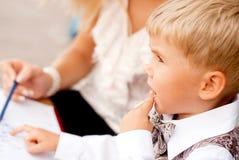 Бизнесмен ребенка Стоковая Фотография RF
