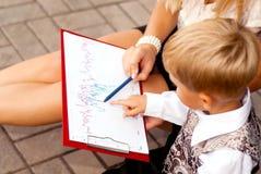Бизнесмен ребенка Стоковые Изображения