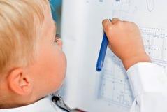 Бизнесмен ребенка Стоковые Фотографии RF