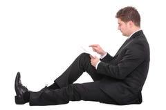 бизнесмен самомоднейший стоковое изображение rf