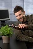 бизнесмен смешной стоковое изображение rf