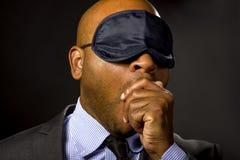 бизнесмен сонный Стоковые Фото