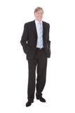 бизнесмен счастливый зреет Стоковое Фото