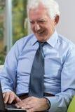 бизнесмен счастливый Стоковая Фотография