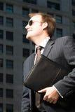 бизнесмен счастливый Стоковое Изображение RF
